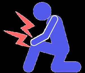 膝の痛みイラスト[1]